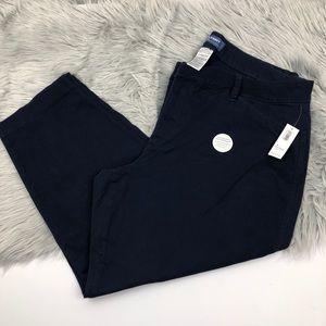 Old Navy chino pixie capri pants 18 plus short